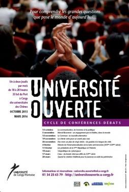 Université Ouvertes 2015