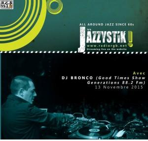 Jazzystic 13 novembre 2015