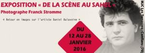 Daniel BALAVOINE Expo De la scène au sahel