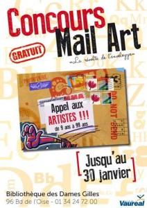 Concours MAIL ART Vauréal
