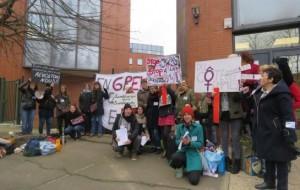 Du côté des femmes en grève février 2016