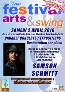 Festival arts & swing  2016