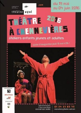 Théâtre Uvol - Théâtre 2016 à Chennevières