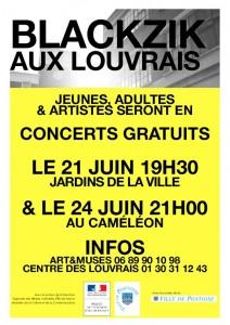 BLACKZIK aux Louvrais juin 2016