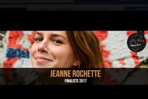 Jeanne ROCHETTE Finaliste Prix Georges Moustaki 2017
