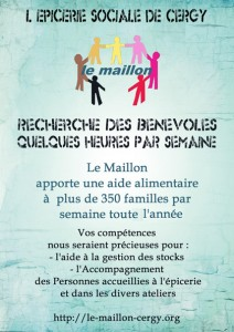 Le Maillon Flyer_Benevole