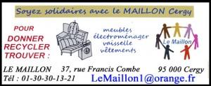 Le Maillon bannière Soyez solidaire