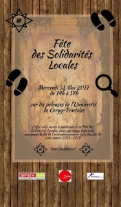 Fête des Solidarités locales Cergy 31 mai 2017