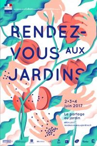 Rendez-vous aux jardins 2017 affiche