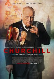 CHURCHILL le film affiche