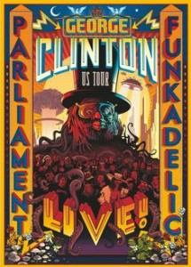 Georges CLINTON Live