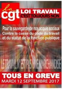 CGT mobilisation loi travail
