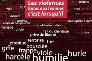 Du Côté des femmes Violences Harcèlement