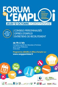 Forum de l'emploi 2017 Cergy Pontoise