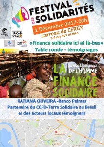 Festival des Solidarités Cergy 1er dec2017