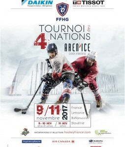 Tournoi des 4 nations 2017 hockey