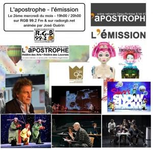 L'apostrophe l'émission 13 décembre 2017