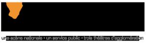 Logo L'apostrophe 3 théâtres