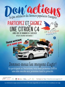 Don'Actions 2018 Secours Populaire Français