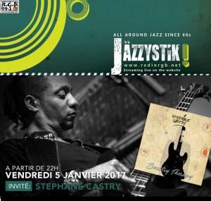 Jazzystik 5 janvier 2018 Stéphane CASTRY
