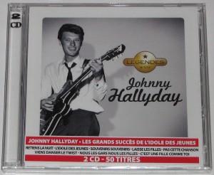 Johnny hallyday Légendes 2cd