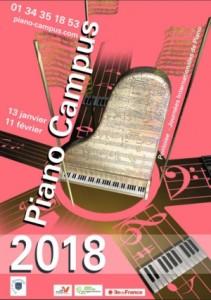 PIANO CAMPUS 2018 AFFICHE