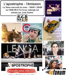 L'apostrophe l'émission 14 février 2018