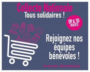 Restos du coeur collecte nationale mars 2018