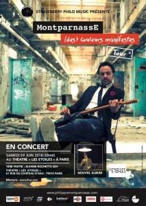 MontparnassE Album & concert à Paris 2018