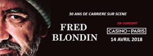 Fred BLONDIN Bannière Casino de Paris