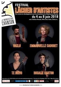 LÂCHER D'ARTISTES Juin 2018