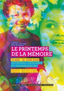 Printemps de la Mémoire 2018 affiche