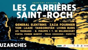 Festival Les Carrières Saint-Roch 2018 Bandeau