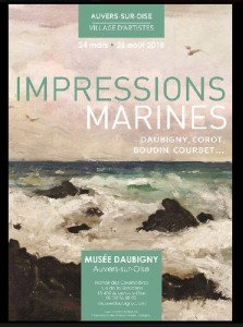 Impressions Marines Auvers avril 2018