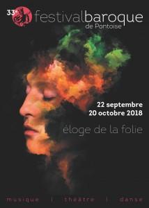 Festival Baroque de Pontoise 2018 Affiche