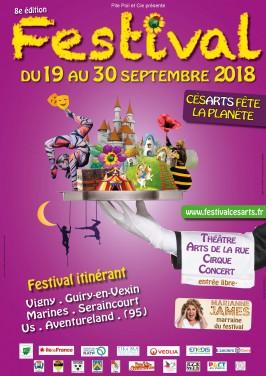 Festival Cesarts fête la planète 2018