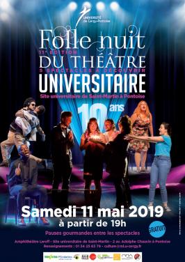 Folle Nuit du Théâtre Universitaire 2019