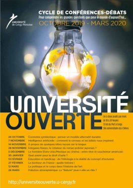 Université Ouvertes 2019 / 2020