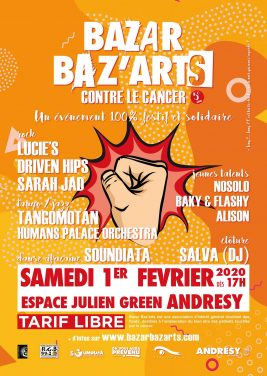 Bazar Baz'Arts contre le cancer