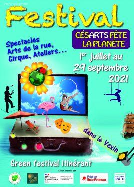 Festival Cesarts fête la planète 2021